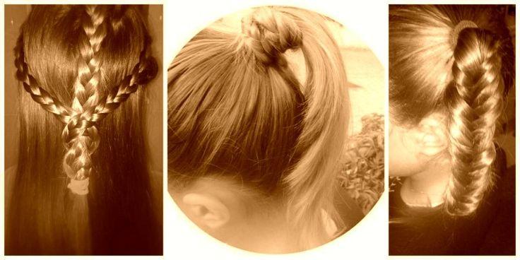 Everyday hair styles for girls, Χτενίσματα για κορίτσια με ίσια μαλλιά-anthomeli.com