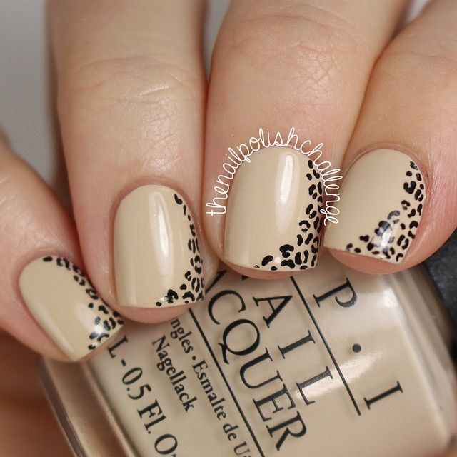 classy nude leopard nail design - Best 20+ Leopard Nail Designs Ideas On Pinterest Leopard Nails