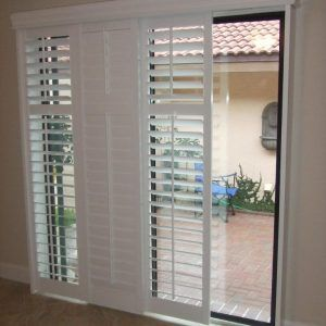 Pictures Of Plantation Shutters On Sliding Glass Doors