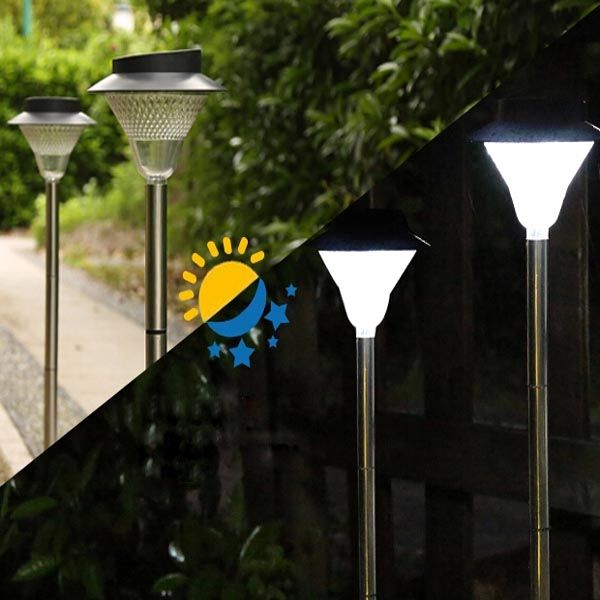 Solar led lights outdoor 25 pinterest solar led light outdoor courtyard garden lawn waterproof street lamp mozeypictures Gallery