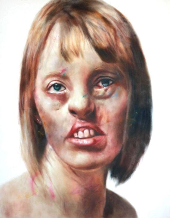 Johan Andersson's Hyperreal Paintings Subvert Mainstream Representations Of Beauty