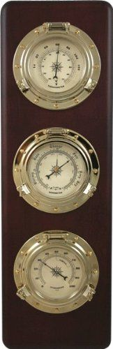 Ambient Weather WS-GL032 Porthole Collection Weather Center with Thermometer, Hygrometer, Barometer Ambient Weather http://www.amazon.com/dp/B003YQW2V2/ref=cm_sw_r_pi_dp_oCDBwb02S67HM