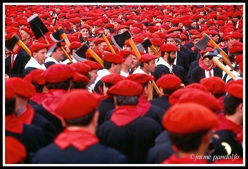 Alarde de San Marcial en Irun  Euskadi Basque Country  Foto de J Pandolfo