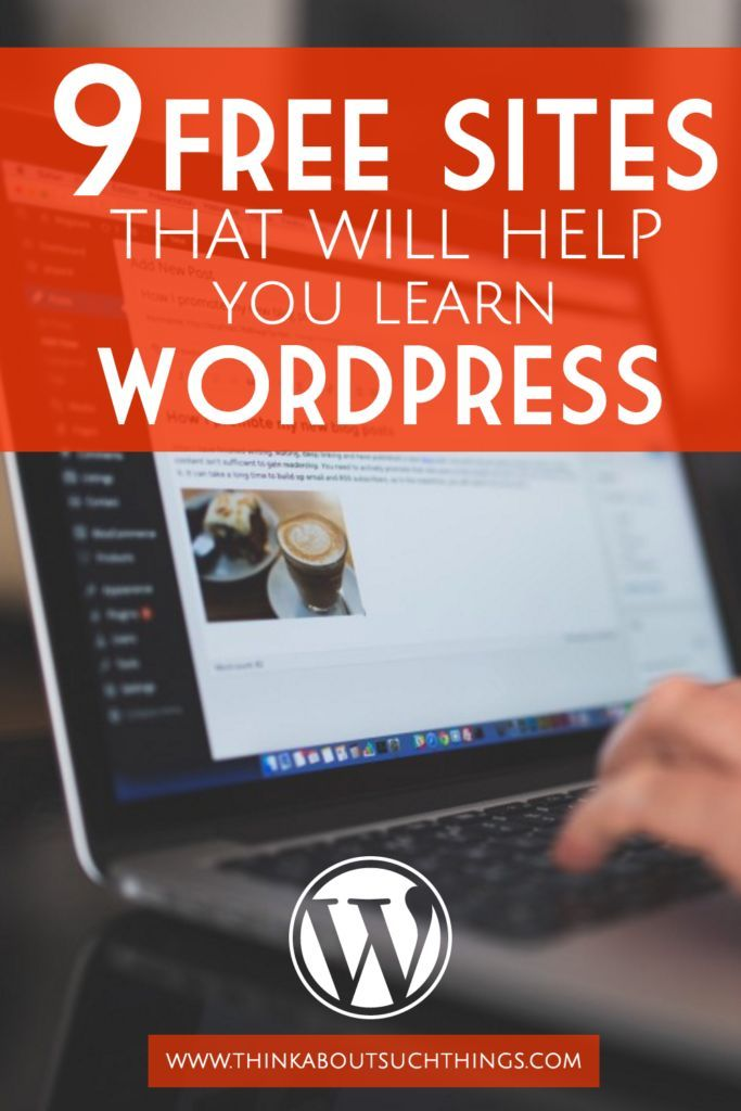 I have been on the hunt for finding FREE ways I can learn how to use WordPress. Below is a list of sites I have found that offer free advice and tutorials. Don't let the techy side of blogging keep you from achieving your dreams! #blogging #wordpress