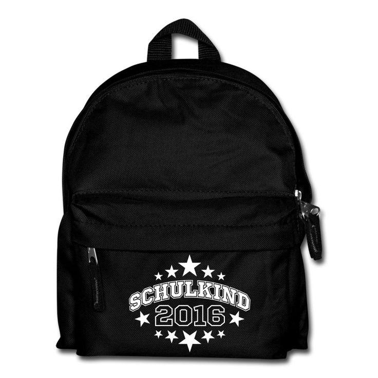 Noch eine Geschenkideen zur Einschulung: Rucksack mit Schulkind 2017 Design.