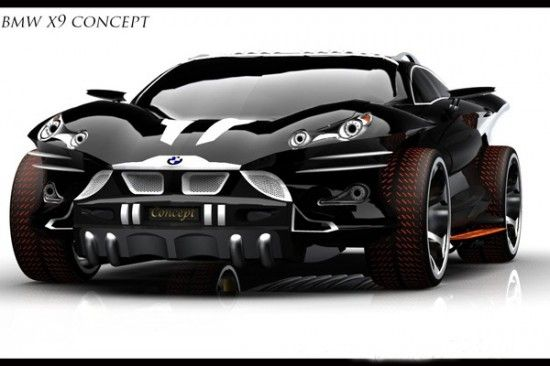 Bmw X9 concept or better known as the next Batmobile