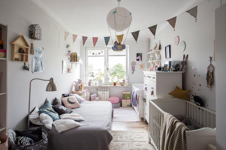 Z Wizytą U Klubowiczów - Gosia I Marcin | Scandinavian Baby Room, Creative Kids Rooms, Kids Bedroom