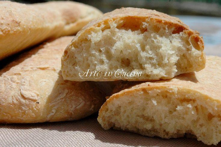 Pane veloce con farina integrale, kamut con pasta madre