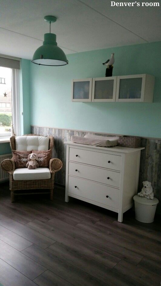 34 best babykamer mintgroen / strand images on pinterest, Deco ideeën
