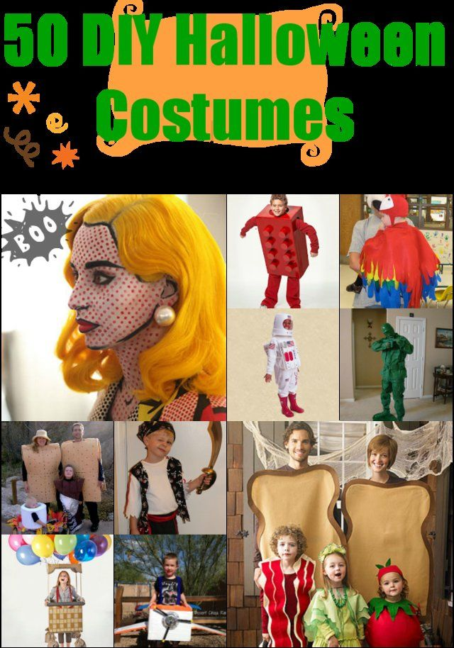 50 DIY Halloween Costumes