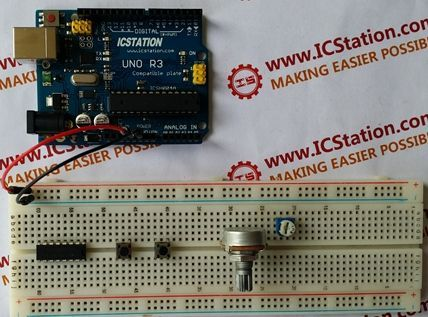 28BYJ-48 Stepper Motor Control System Based On Arduino With ULN2003 Chip - Open Electronics