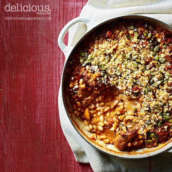 Our version of this French classic cassoulet is lighter on the cals but still heavy on the comfort.
