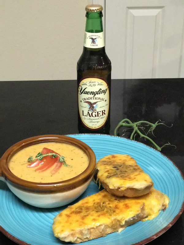 Traditional Welsh Rarebit Recipe - Super fancy grilled cheese with beer #welshrarebit #amenglishmaninnashville #sonothealthy