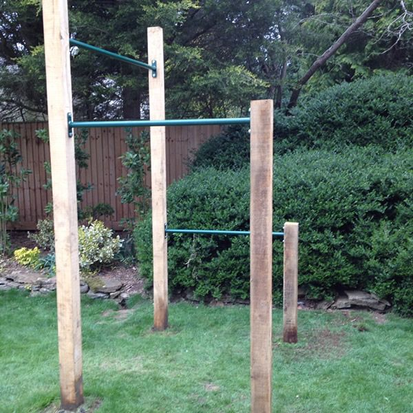 DIY 3 pull up bar outdoor