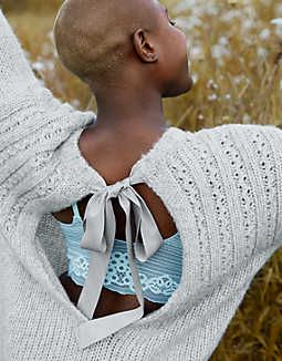 aafefdf08a2e Aerie Open Back Sweater