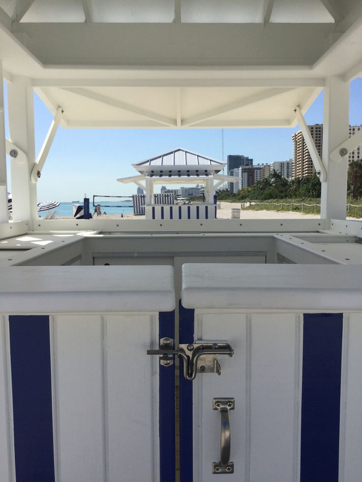 17 best images about edition miami beach beach equipment for Beach hut designs