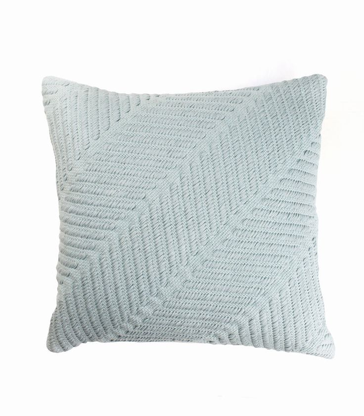 The Stables offers a beautiful collection of woven cushions all designed in Australia. The GRETA Cushion is made from a cotton weave in a soft muted green . Greta is the perfect way to add subtle texture to your interior. Colour: sea green. Dimensions: 50cm x 50cm Includes feather insert. $89.95 AUD www.thestablesco....