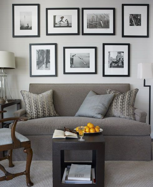 Decorating Walls Behind Sectional Sofa : Best images about wall behind the sofa on