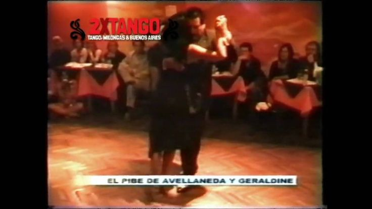 El Pibe Avellaneda y Geraldin Rojas Tango El Adios