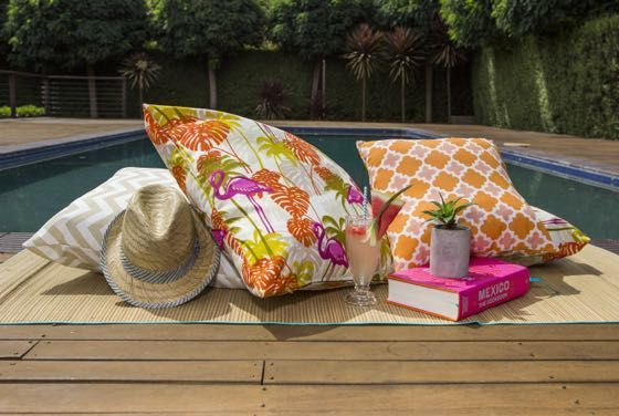 Styling You birthday giveaway Great Outdoor Cushions prize