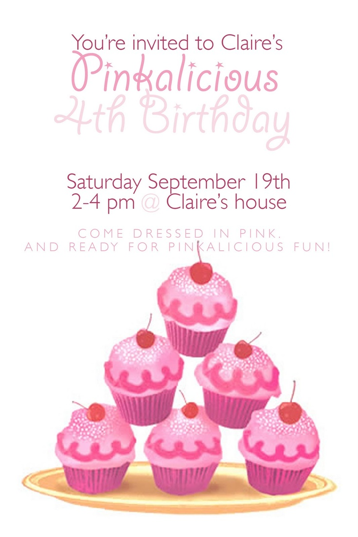 153 best Pinkalicious Party images on Pinterest   Birthdays, Party ...
