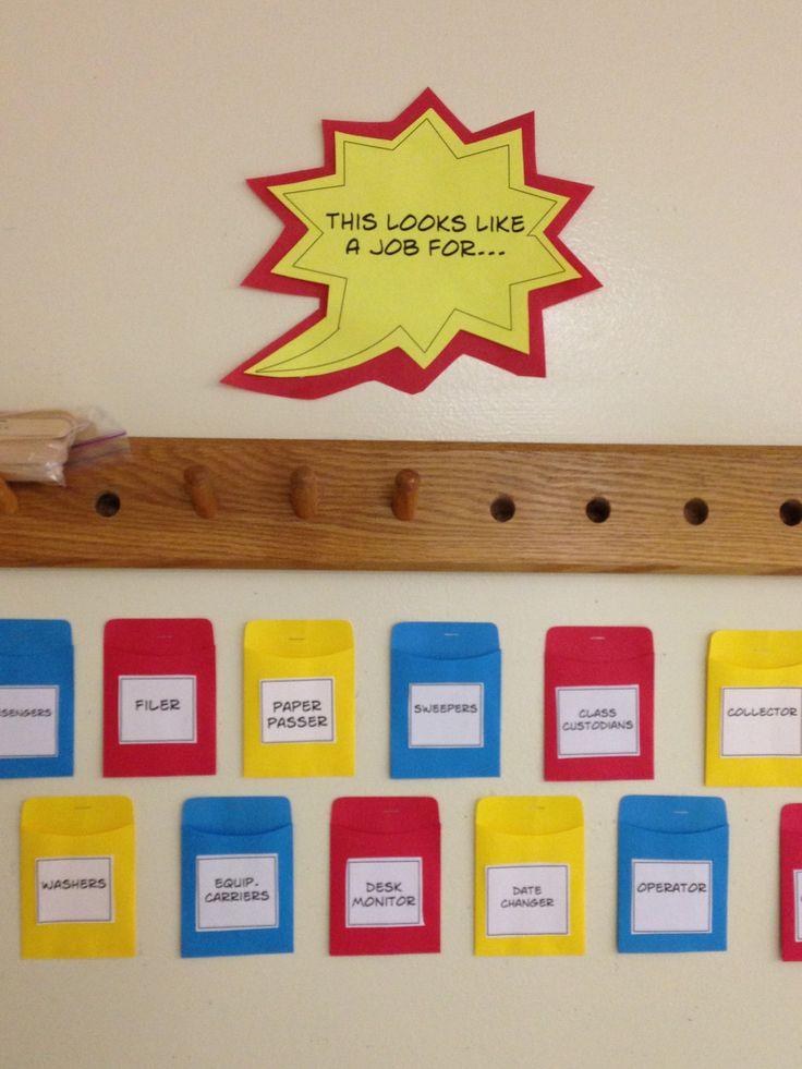 Elementary Super Hero Classroom Ideas ~ Best school classroom theme superheroes images on