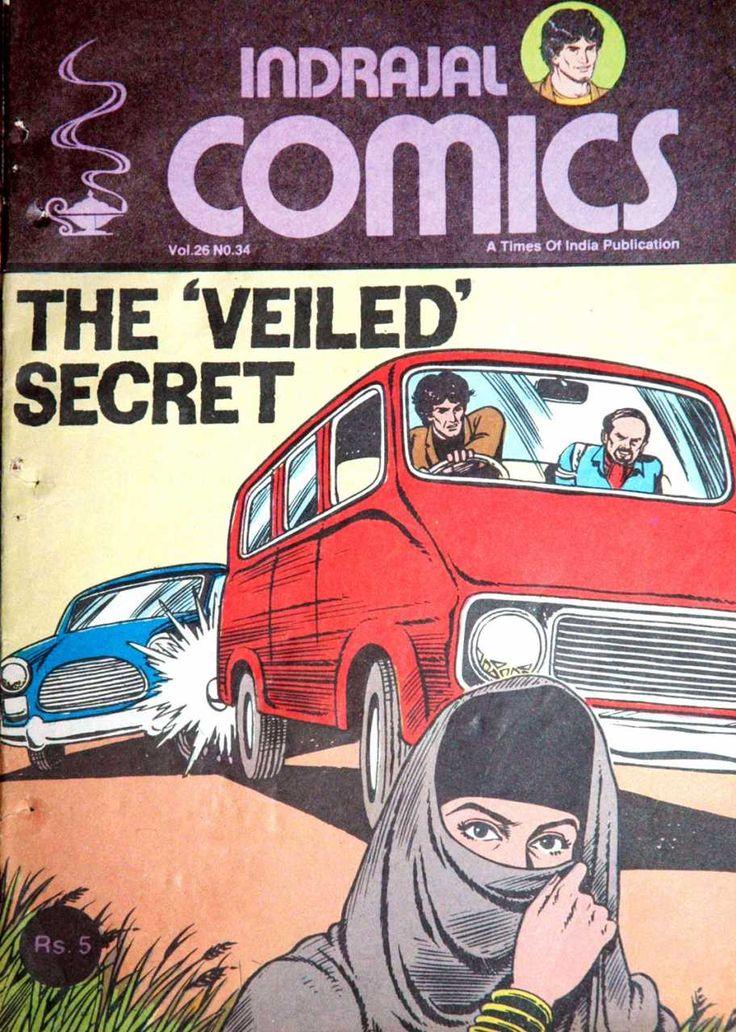 Indrajal Comics #790 - The 'Veiled' Secret (Issue)