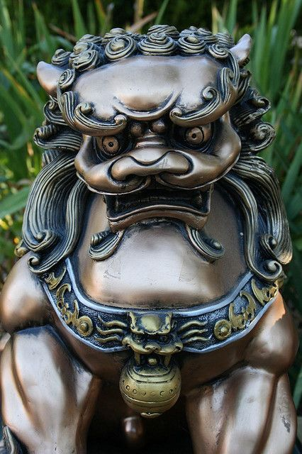 CHINESE FOO DOGS | Chinese Foo Dog statue | Flickr - Photo Sharing!