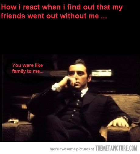 The Godfather Quotes About Family: When Your Friends Betray You…