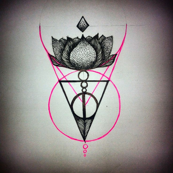 tattoo design #mandala #lotus