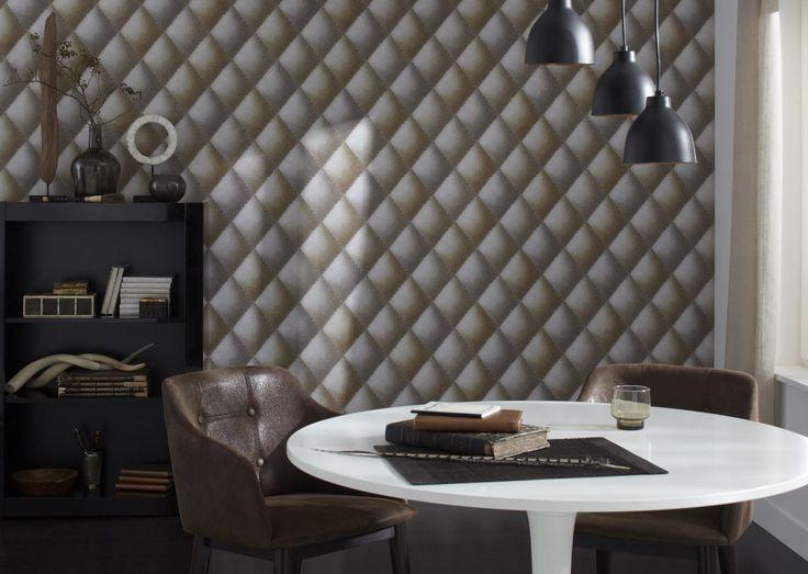 25 best ideas about papier peint capitonn 233 on de mur peint chambres peint en