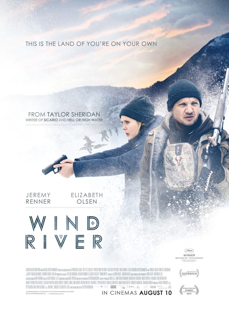 Wind River - new movie poster -> https://teaser-trailer.com/movie/wind-river/  Starring Hawkeye and Scarlet Witch  #WindRiver #WindRiverMovie #JeremyRenner