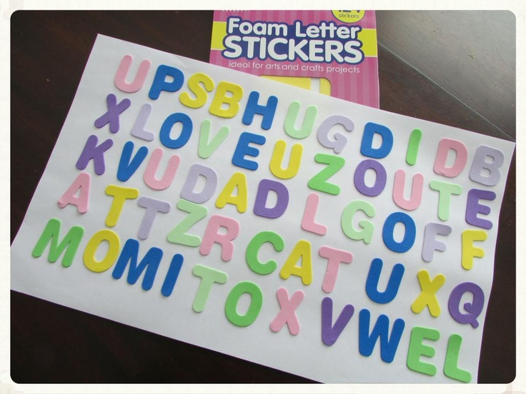 17 best ideas about foam letters on pinterest definition of tactile tactile definition and pre k