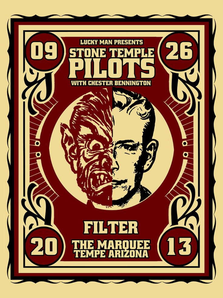 Stone Temple Pilots - The Marquee by Xray