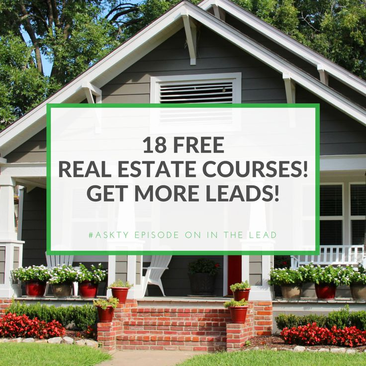 online real estate courses