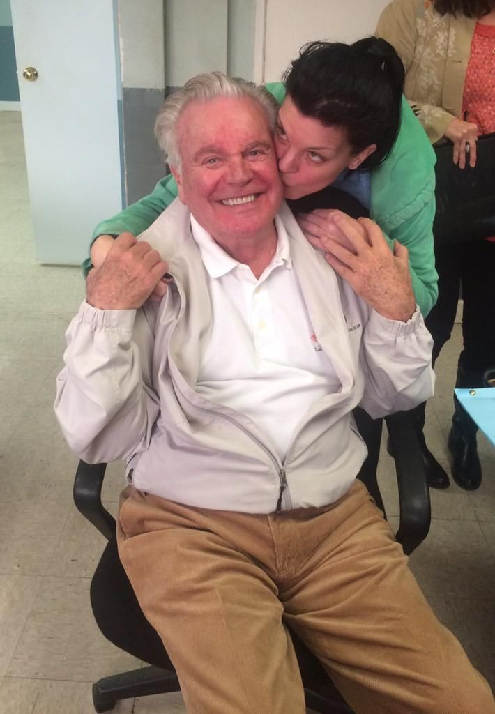 """All new NCIS tonight with Robert Wagner BACK! Great stuff with him and Michael Weatherly."""
