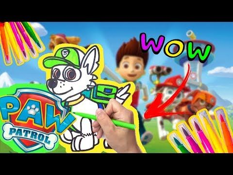 How To Draw Chase From Paw Patrol D4k Youtube In 2020 Paw Patrol Characters Paw Patrol Coloring Paw Patrol Coloring Pages