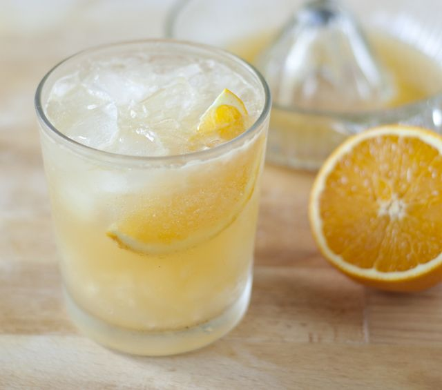 orange ginger fizz
