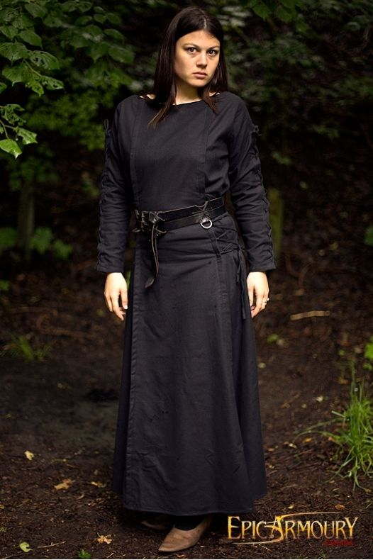 Priestess Dress Black
