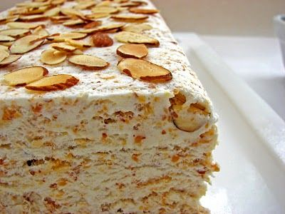 toasted almond semi freddo