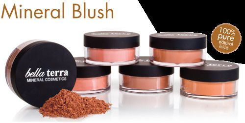 Bella Terra Cosmetics Mineral Blushes Multiple Shades & Sizes 9g 6g 2g #BellaTerraCosmetics