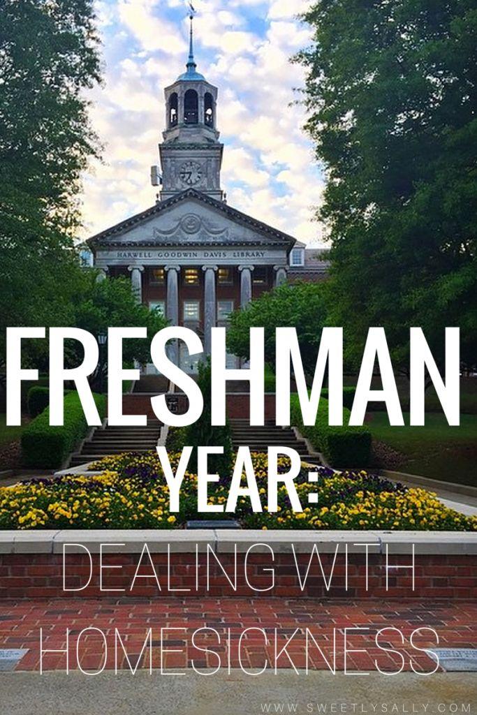 Freshman Year: Homesickness