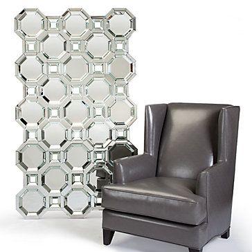 Axis Floor Mirror