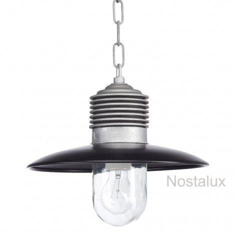 Hanglamp Ampere ketting Alu./Zwart (1199ZD) - KS Verlichting - Stoer