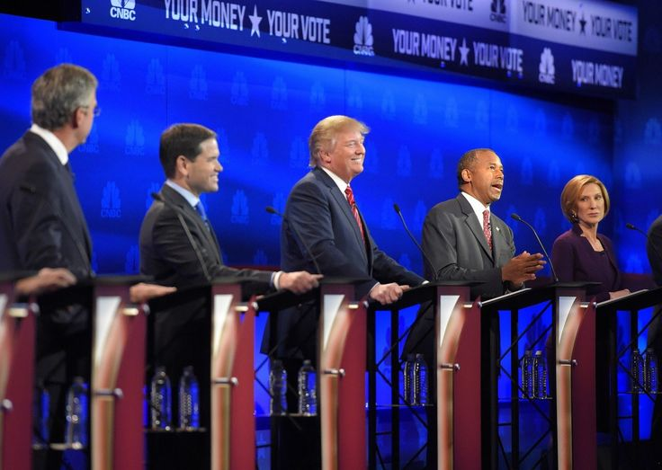 3rd Republican Debate: Who Appeared LEAST Insane? - Published on Oct 28, 2015 Reviewing the 3rd Republican primary debate for the 2016 Presidential election, held in Boulder, Colorado and broadcast on CNBC. Moderators were Becky Quick, Carl Quintanilla, and John Harwood.
