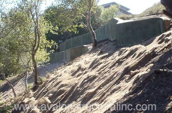 Avalon Structural has extensive experience with retaining walls and stabilizing hill side slopes. http://www.avalonstructural.com