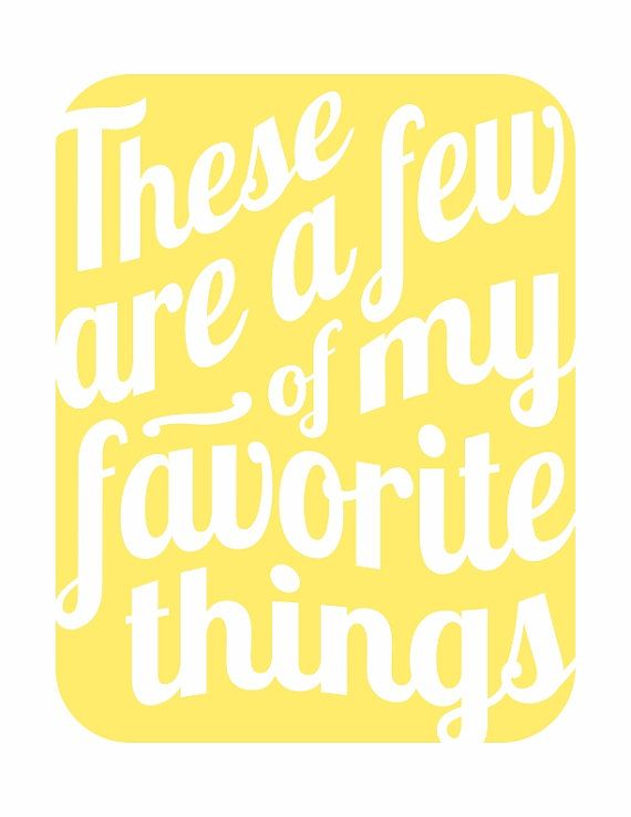 These Are a Few of My Favorite Things v3  by HouseofTenderBeasts, $20.00