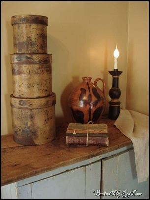 Behind My Red Door blog...dedicated to primitive, colonial & farmhouse decorating   ****