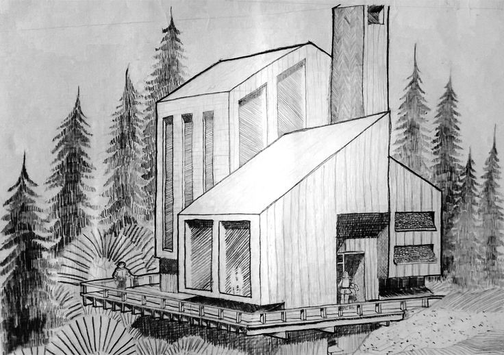 Redrawing of The Modern House