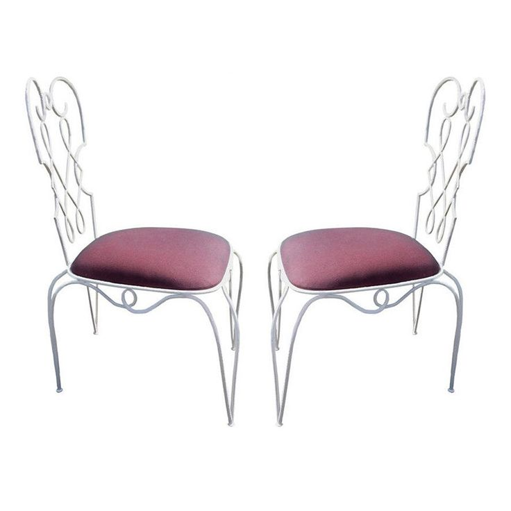 Rene Prou pair of chairs - new upholstery - France 1950's - Ipso Facto